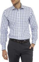 Geoffrey Beene Great Grid Check Slim Fit Shirt