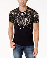INC International Concepts I.n.c. Men's Gold-Foil T-Shirt, Created for Macy's