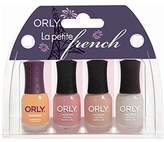 Orly La Petite French 4pc Kit 0.18 Ounces