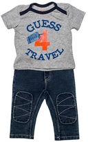 Guess Travel Graphic T-Shirt and Jeans Set