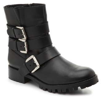 Steve Madden Ming Motorcycle Bootie