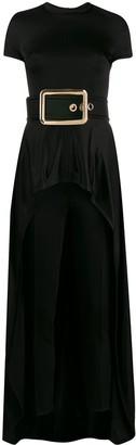 Elisabetta Franchi Evening belted jumpsuit