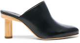 Tibi Leather Zoe Mules