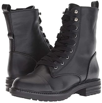 Report Nina (Black Smooth) Women's Shoes