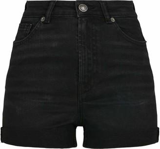 Urban Classics Women's Shorts Ladies 5 Pocket Hose