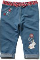 M&Co Bunny floral print waistband jeggings