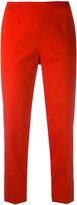 Piazza Sempione cropped trousers - women - Spandex/Elastane/Silk/Polyamide - 40