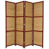 Oriental Furniture Simple, Beautiful, Unique, 6-Feet Tall Woven Accent Room Divider
