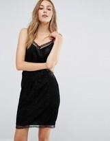 Vila Lace Trim Cami Dress