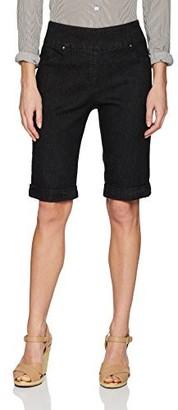 Ruby Rd. Women's Pull-on Extra Stretch Cuffed Denim Short