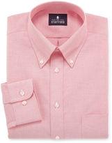 STAFFORD Stafford Travel Wrinkle-Free Oxford Dress Shirt