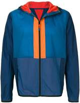 Paul Smith colour-block hooded jacket