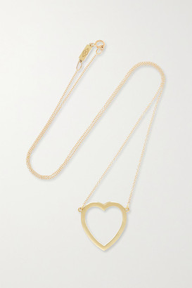 Jennifer Meyer - Open Heart 18-karat Gold Necklace