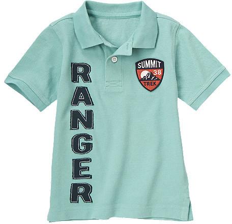 Gymboree Ranger Patch Pique Polo Shirt
