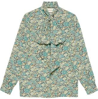 Gucci Liberty floral print blouse