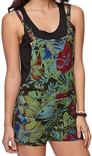 Billabong Overall Shorts Dress