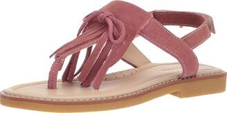 Elephantito Girls' Fringes Sandal