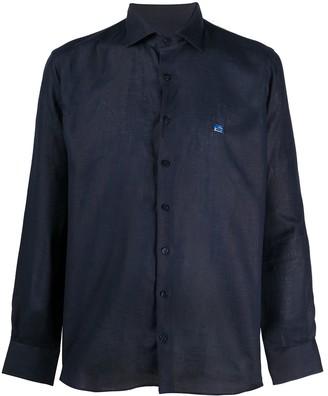 Etro Linen Buttoned Shirt