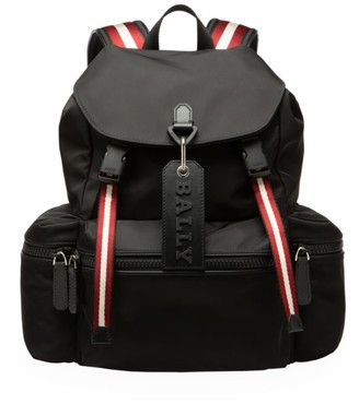 Bally Crew Striped Backpack