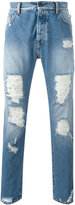 Palm Angels distressed jeans - men - Cotton/Polyester - 34