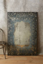 Anthropologie Dissolved Lace Mirror