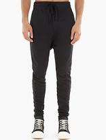 Thom Krom Black Cotton Sweatpants