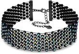 Lipsy Rainbow Crystal Choker Necklace