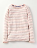 Boden Sparkle Pointelle T-shirt