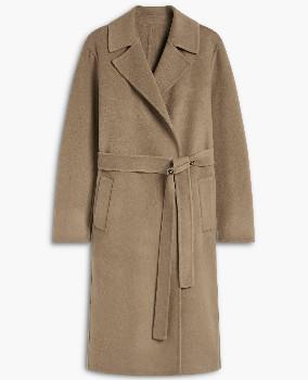 Closed Italian Doubleface Coat - XS . | wool | Cashemire | camel - Camel