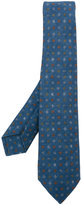 Kiton diamond pattern tie