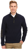 Kenneth Cole Sportswear Half Zip Mock with Coating