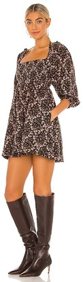 Free People This Is Everything Printed Mini Dress