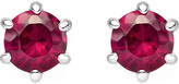Thomas Sabo Glam and Soul red stone sterling silver earrings