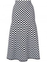Alexander Wang BELOW KNEE CHECKERBOARD SKIRT