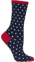 Hot Sox Holiday Polka Dot Socks