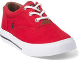 Ralph Lauren Little Kid Vaughn Ii Canvas Sneaker
