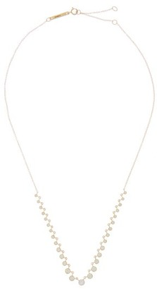 Zoë Chicco Diamond & 14kt Gold Rolo-chain Necklace - Gold