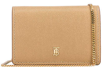 Burberry Jessie Card Case Crossbody Bag in Archive Beige | FWRD