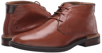Hush Puppies Davis Chukka Boot (Black Leather) Men's Boots