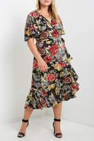Soprano Floral Wrap Dress