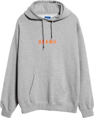 Beams Japan Logo Cotton Hoodie