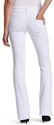 Hudson Women's Denim Pants and Jeans - Stark White Nico Mid-Rise Bootcut Pants - Women