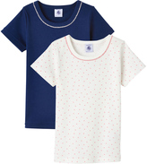 Petit Bateau Set of two girls T-shirts