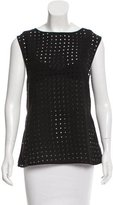Zimmermann Sleeveless Perforated Top