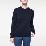 Paul Smith Women's Navy Cashmere Sweater