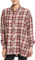 The Great The Big Shirt, Red Plaid