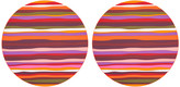 Set of 2 Round Placemats