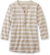 L.L. Bean Women's Summer Pullover, Henley