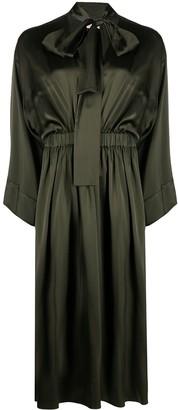 Altea Pussy-Bow Mid-Length Dress