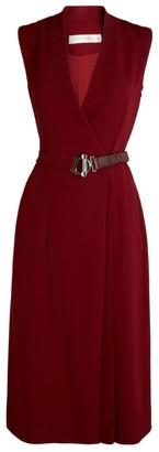 Victoria Beckham Belted Wrap Dress